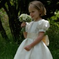 Eliza flower girl and bridesmaid dress UK by Nicki Macfarlane