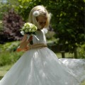 Lace flower girl or bridesmaid dresses, UK
