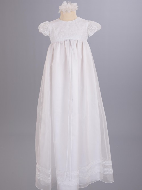 Spanish Lace Christening Dresses and Robes by UK Designer Nicki Macfarlane