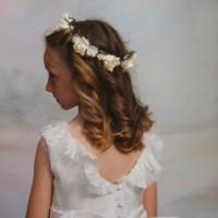 Lace First Holy Communion Dress by UK designer Nicki Macfarlane